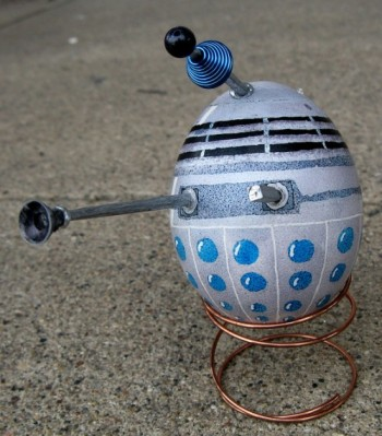 Dalek easter egg by PugnoM
